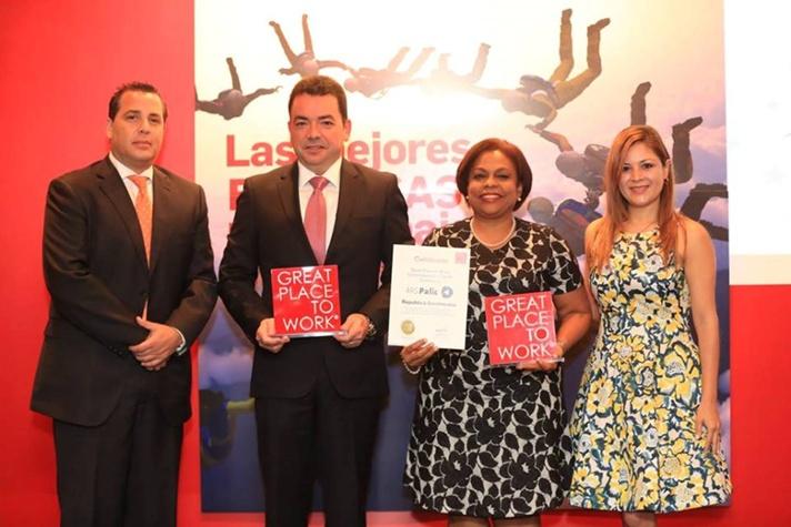 ARS PALIC reconocida como una de las mejores empresas para trabajar en República Dominicana y el caribe