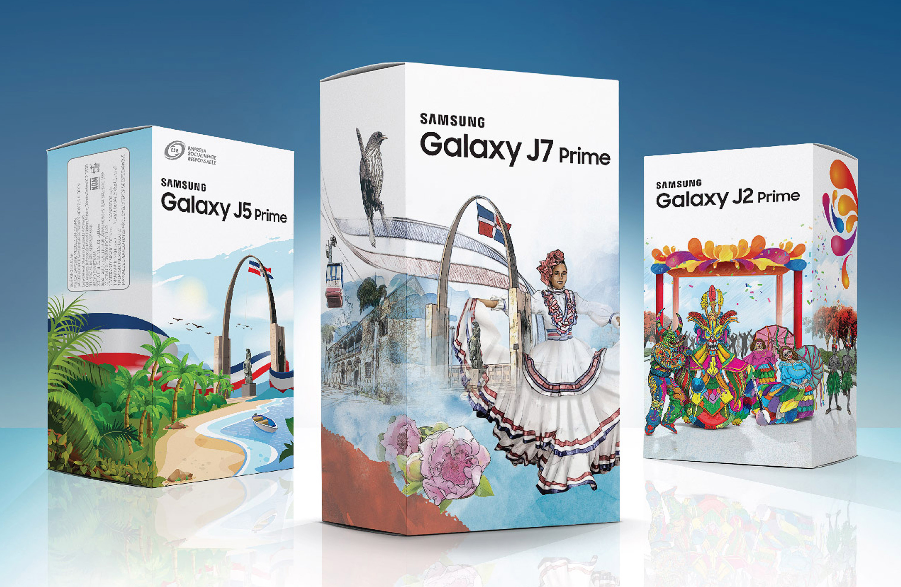 Samsung Galaxy J Prime se viste de cultura dominicana