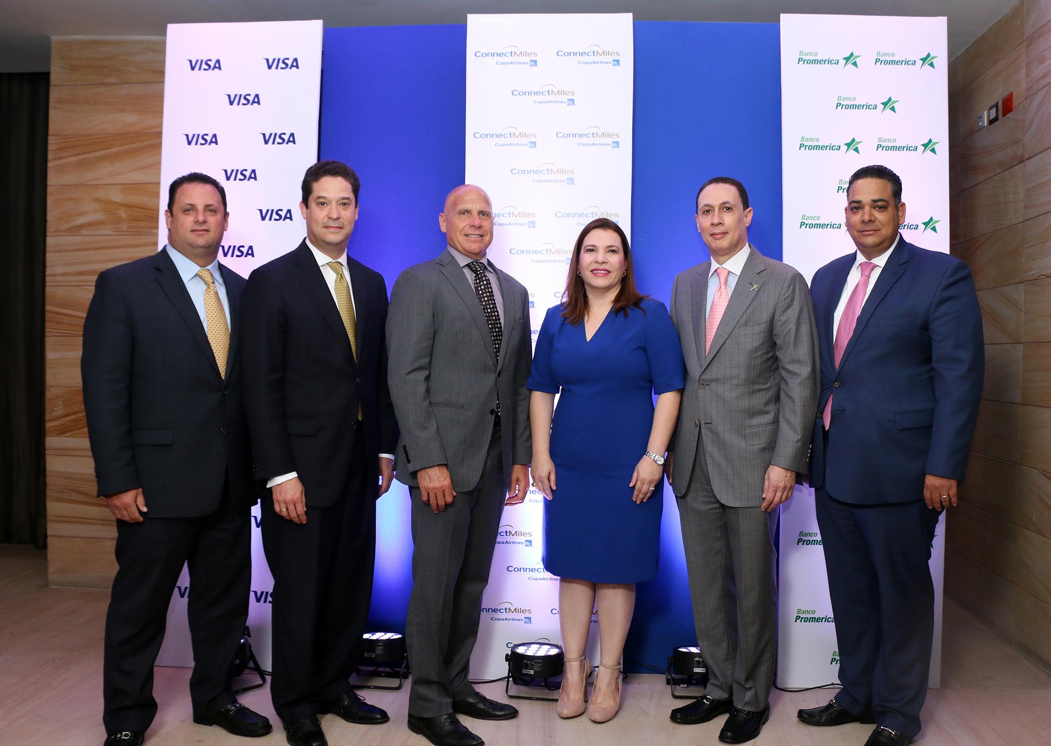 Elige tu próximo destino: Banco Promerica, Copa Airlines y Visa lanzan tarjeta de crédito