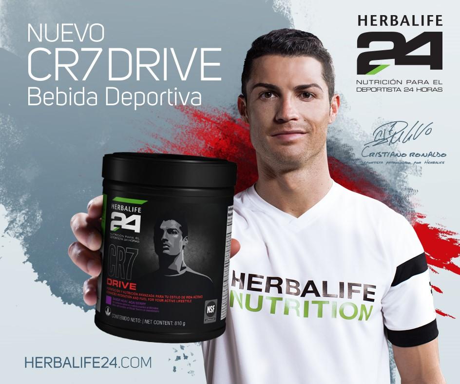 CR7 Drive: hidratación óptima para deportistas de alto rendimiento