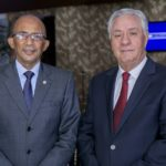 Rafael Nino Feliz y Leonardo Vargas.