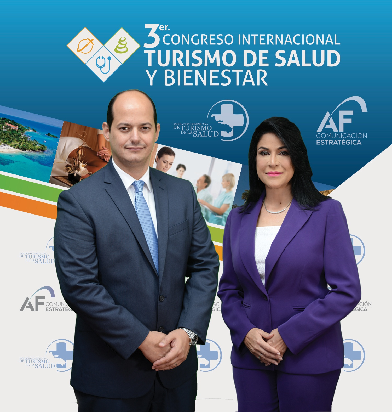 Asociación Dominicana de Turismo de Salud y AF Comunicación anuncian agenda del 3er Congreso Internacional de Turismo de Salud