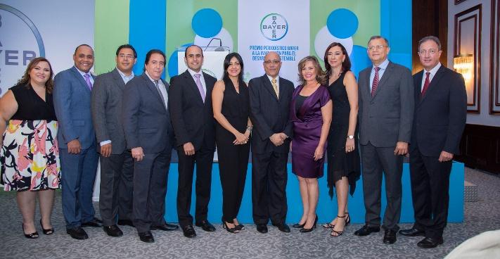 Bayer reconoce a comunicadores que promueven una vida mejor con sus contenidos en República Dominicana