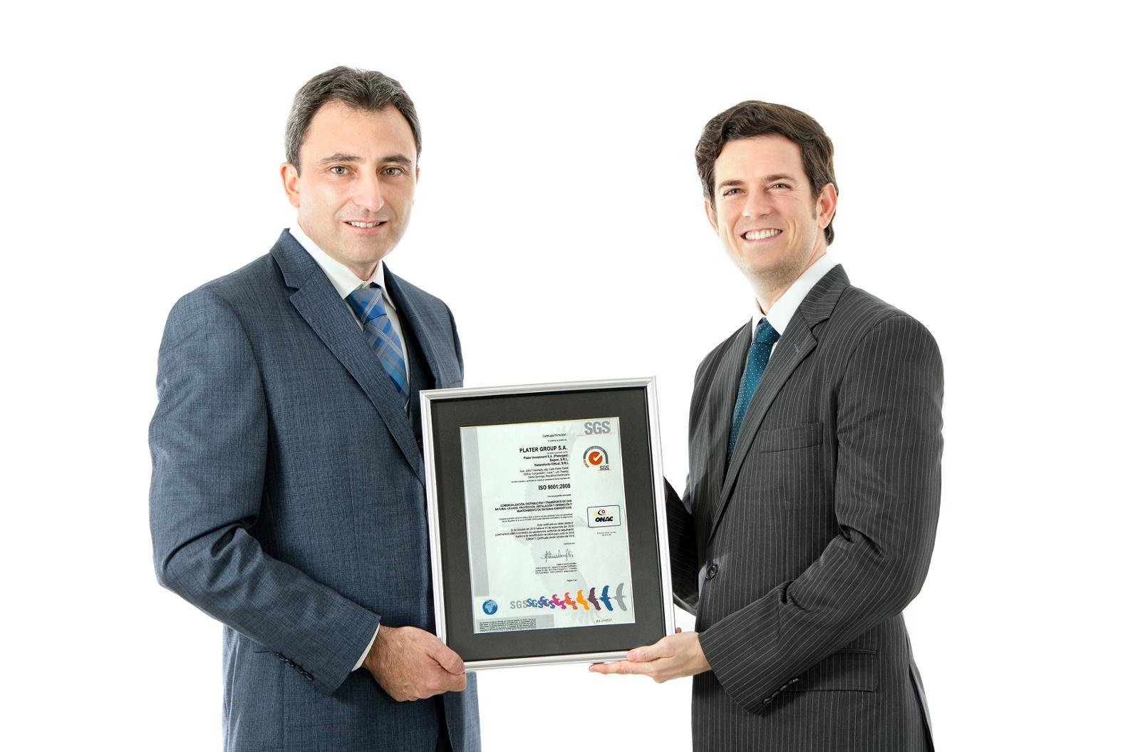 PLATERGROUP obtiene certificación ISO 9001:2008