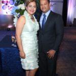 Yihcet Ripoll y Nelsyn Flores