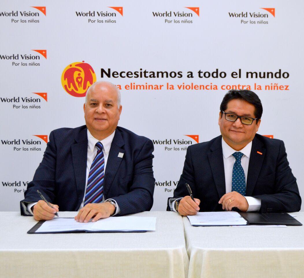 Firman acuerdo para promover la prevención de la explotación sexual comercial y trata de niños