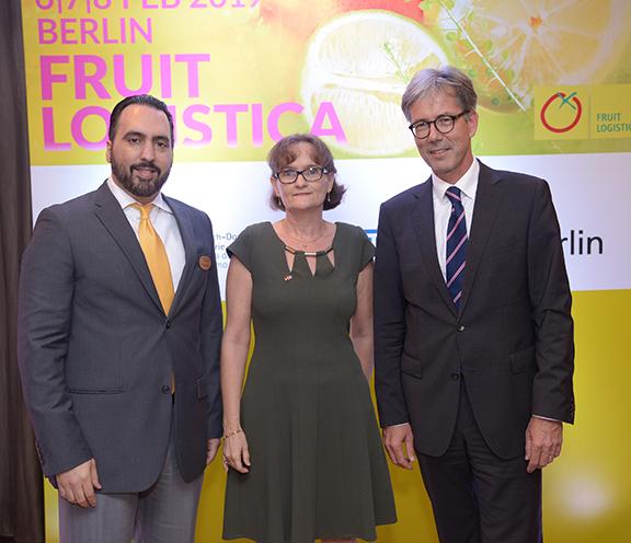 La Cámara de Comercio Domínico-Alemana presentó FRUIT LOGISTICA 2019