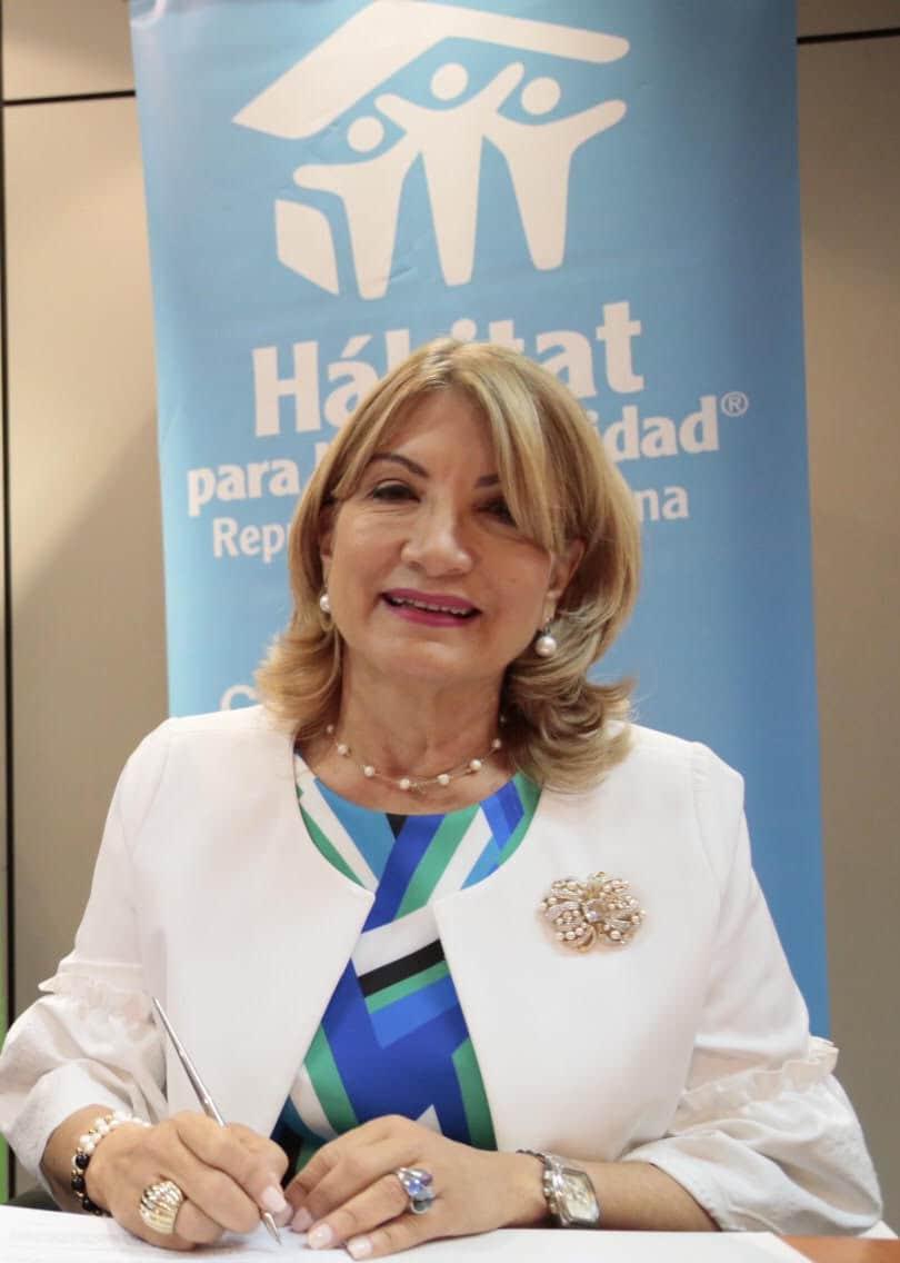 Cesarina Fabián, directora de Hábitat para la Humanidad República Dominicana