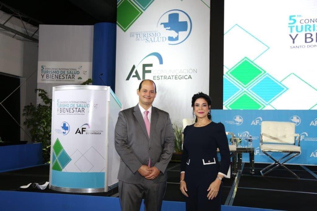 Alejandro Cambiaso y Amelia Reyes Mora, organizadores de la Quinta edición Congreso Internacional de Turismo de Salud y Bienestar desarrolla exitosa agenda de paneles y conferencias