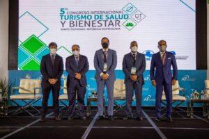 Rafael Blanco, Eddy Pérez Then, Sigmund Freund, Joel Santos y Víctor Rojas