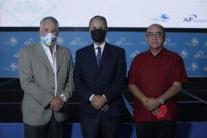 José Natalio Redondo, Luis José Chávez y Quiterio Cedeño