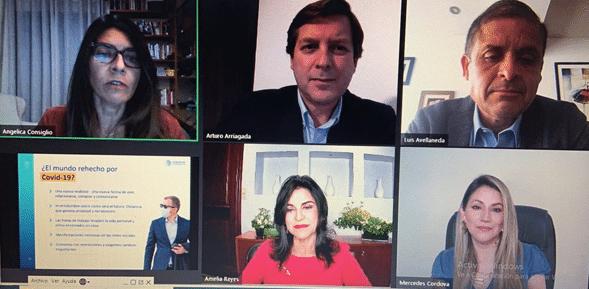 """Expertos en comunicación de Latinoamérica hablan sobre los """"Desafíos de la Reputación Corporativa en Tiempos de Covid-19""""."""