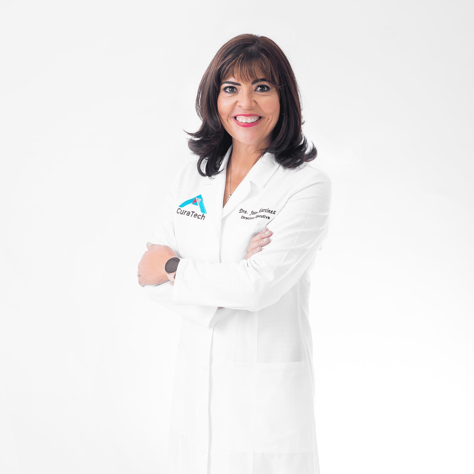 Joan M. Martínez , directora e Operaciones de Curatech: ¿Cómo se curan las heridas crónicas?